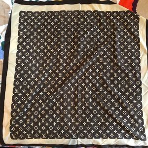 Louis Vuitton large scarf